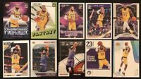 LEBRON JAMES 10-CARD LOT: All 10 Cards in His Lakers Jersey –*SP*– No Dupes!
