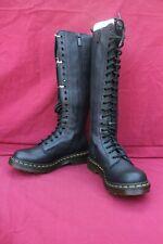 DR MARTENS 1B60 Virginia 23889001 Longues Bottes à lacets  Black - 40 FR - 7 UK