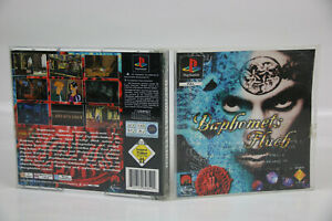 Sony Playstation 1 PS1 PAL OVP Baphomets Fluch