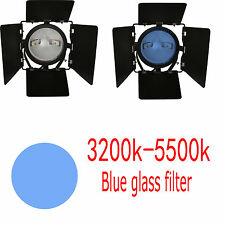 RHBG Daylight blue glass filter 800W Red Head Video Studio 3200K TO 5600K