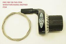 Retro SRAM 8 velocità SRT 600 GRIPSHIFT BICI indice Gear Shifter originali anni'90 NUOVO OL