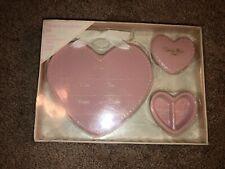 Infant Girls Stepping Stones Brand Pink Ceramic Keepsake set