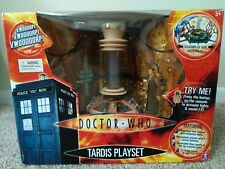 Doctor Who Tenth (10th) Doctor's TARDIS Playset Collectible - New in Box!