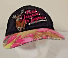 Women's Pink Camo FIELD DRESSED TO IMPRESS HAT - Southern Girl Hunt Country