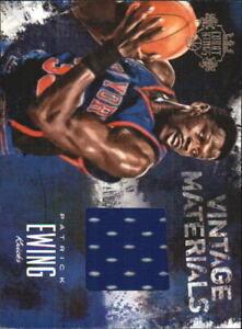 2013-14 (KNICKS) Court Kings Vintage Materials #11 Patrick Ewing/125 Jsy