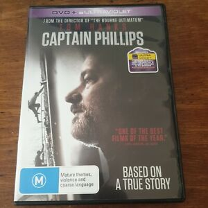 Captain Phillips DVD R4 Like New! FREE POST