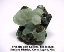 (M) PREHNITE with EPIDOTE, BENDOUKOU, SANDARE DISTRICT, KAYES REGION, MALI
