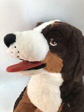 "Ikea Hoppig Bernese Burmese Mountain Dog Stuff Animal Plush 29"" Soft 603.735.58"