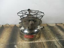 COLEMAN STOVE MODEL 500 CHROME  DATED 6 - 66 NO RESERVE