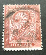 Italy-1865-2c Numeral-Used