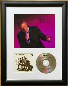 Suggs / Madness / Signed Photo / Autograph / Framed / COA