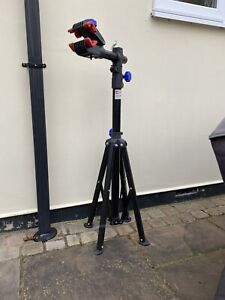 Bike Bicycle Cycle Maintenance Repair Stand Mechanic Adjustable WorkStand Rack