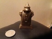 ORIGINAL KELLOGGS BREAKFAST CERIEL STAR WARS ITEM BOSS NASS GOLD FIGURE ON STAND