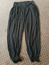 ASOS Black Hareem Pants 12