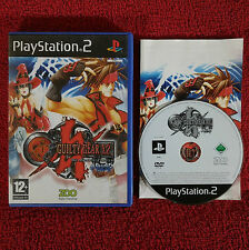 GUILTY GEAR X2 #RELOAD - PlayStation 2 PS2 ~PAL~12+ Fighting Game