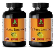 Tribulus Terrestris Extract 1000mg - Muscle Mass Gain Supplement Tablets - 2B