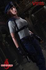 SW Our world 1/6 Resident Evil Jill Valentine Female Action Figure Game Model