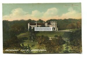 Fetteresso Castle, Stonehaven - 198 used Kincardineshire postcard