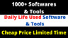 1000+ Software And Tools Bundle For SEO Traffic And Marketing ($12000 Value)