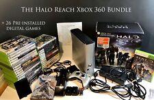 Microsoft Xbox 360 S Halo Reach Edition 250GB Console w/ Controller + 66 Games