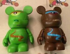 Urban 7 Cyclops & Variant VINYLMATION Disney Authentic Green & Brown Monster