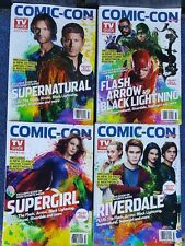 Comic-Con special TV GUIDE OCTOBER  2017 NO MAILING LABELS all 4 magazines