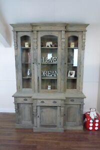 Large Bookcase In  A Weathered Oak Finish - Large Dresser/Bookcase/Shelving Unit