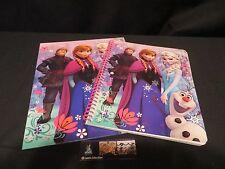 New Disney Frozen Back to School Portfolio Folder and Spiral Notebook Set