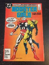 Booster Gold#9 Incredible Condition 8.5(1986) Jurgens Art!!