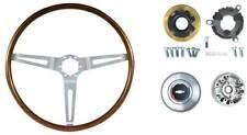 1967-68 GM Walnut Wood 16 Inch Diameter Steering Wheel Kit