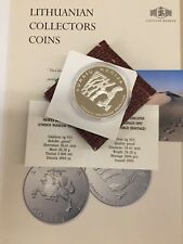 2004 Lithuania 50 Litas Curonian Spit (UNESCO World Heritage)