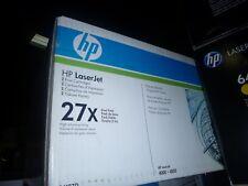Genuine HP (C4127D) C4127X Black Toner Dual Pack OEM New OPEN Box