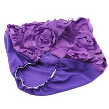 For Adults And Children Satin Elastic Force Sunflower New Multicolor Flower Lo