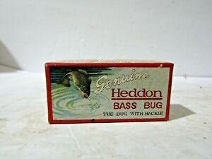 Heddon Genuine Bass Bug Empty Box