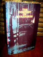 Comfort of Strangers Ian McEwan 1st Edition Novel First Printing Fiction