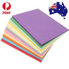 100 X 180gsm A4 Coloured Card Cardboard Craft Paper Making Cardstock Premium Mix