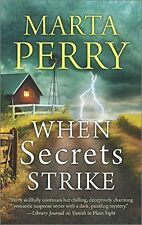 When Secrets Strike: Romantic Suspense set in Amish Country (House of Secrets) b
