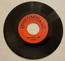 Ray Price - Who'll Be The First / One More Time On Columbia,EX