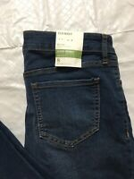 Old Navy Super Skinny Ankle Jeans Womens Size 8  Mid Rise Stretch Distressed NWT