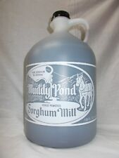 Muddy Pond Sorghum Syrup or Molasses - Gallon jug - 128 fl. oz.- Pure