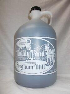 Muddy Pond Sorghum Syrup or Molasses - Gallon jug - 128 fl. oz.- Pure