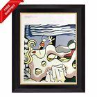 Roy Lichtenstein -Reclining Nude, Original Hand Signed Print with COA
