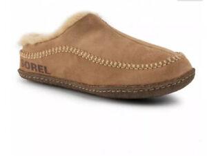 SOREL Falcon Ridge Slippers Size 11 Uk Camel Brown