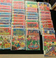 1970s 54 Archie Comics Lot Jughead Reggie Jokes Pep Laugh Betty Josie Riverdale