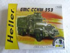 Maquette  GMC CCKW 353 échelle  1/72eme, MARQUE HELLER