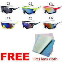 Outdoor Sports Cycling Bike Fishing Goggles Eyewear Glasses Sunglasses UV400