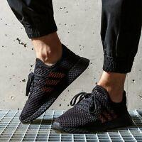 adidas Men Originals Deerupt Shoes Black Trainers