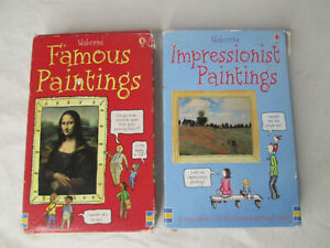 Usborne Famous Paintings Flash Cards Art History Homeschool Impressionist