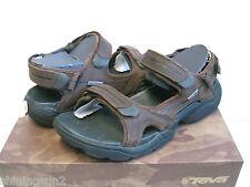 Teva Obern Burnswick Leather Womens Sandals US11/ Men US9