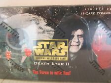 Star Wars CCG Death Star II Booster Box Brand New Sealed with 36 new packs